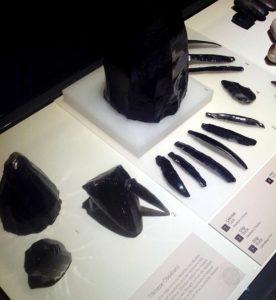 Обсидиановые инструменты из Тилкитепе, Турция, 5-е тысячелетие до н. э.